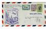 THAILAND 1947 Pan American World Airways First Clipper Airmail Flight Bangkok to Guam. - 30128 - PostalHist