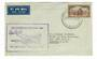 NEW ZEALAND 1950 First Direct Airmail from Christchurch to Sydney. - 30134 - PostalHist