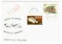 NEW ZEALAND 1985 Flight to Pitcairn Island. Postmark 18/3/85 Auckland. RNZAF P-3 Orion Official Airdrop. Backstamped Pitcairn Is