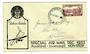 NEW ZEALAND 1933 Special Airmail Auckland to Invercargill sent from Auckland to Rotorua. - 30141 - PostalHist