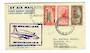 NEW ZEALAND 1951 First Official Direct Airmail from Christchurch to Melbourne. Carried by Tasman Empire Airways Limited. - 30142