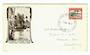 SAMOA 1935 1d Pictorial on illustrated first day cover. - 30145 - FDC