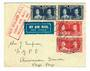 NEW ZEALAND 1937 First Airmail New Zealand to USA. Letter carried to Pago-Pago. - 30151 - PostalHist