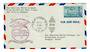 USA 1952 Pan American World Airways First Direct Airmail Flight New York to Rangoon.