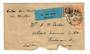 STRAITS SETTLEMENTS 1933 Airmail Letter to Glasgow. Untidy at the bottom. - 30167 - PostalHist