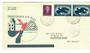 NETHERLANDS 1953 Flight cover. Air Race to Christchurch New Zealand. Purple cachet. - 30186 - PostalHist