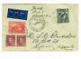 AUSTRALIA 1938 Flight Cover to New Guinea 30/5/38. - 30191 - PostalHist