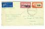 NEW ZEALAND 1940 Flight Cover. New Zealand to USA Air Mail Service via New Caledonia. Letter from Christchurch to New Caledonia