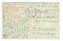 GERMANY 1917 Censored correspondence on postcard of a canal. Censor No 12. - 30202 - PostalHist