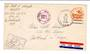 USA 1944 Censored air letter to Oregon. US Army Postal Service.