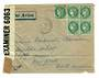 FRANCE 1940 Letter to New York. Reseal Label