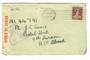 AUSTRALIA Letter to Postal Unit 9th Division AIF Abroad. Passed by Censor 1187. - 30220 - PostalHist