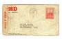 AUSTRALIA 1940 Letter to New Zealand. Opened by Censor. Cachet PASSED BY CENSOR 8. Poor condition. - 30232 - PostalHist