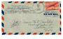 USA 1942 Airmail Letter Naval Censored.