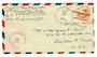 USA 1943 Airmail Letter. Postmark US Navy. Passed by Naval Censor.