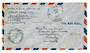 USA 1944 Airmail Letter. Postmark US Navy. Passed by Naval Censor.