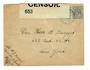 NETHERLANDS 1940 Letter to New York. Reseal Label