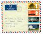 GREAT BRITAIN 1966 Technology. Set of 4 on airmail first day cover to New Zealand. - 30313 - FDC