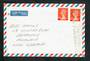 GREAT BRITAIN 1989 Airmail Letter to New Zealand. Slogan cancel The Archers. - 30333 - PostalHist