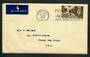 GREAT BRITAIN 1948 airmail to USA with 1/- Olympic. Genuine postal usage. - 30351 - PostalHist
