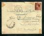 GREAT BRITAIN 1936 Letter to Australia. Redirected. - 30355 - PostalHist