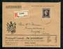 NETHERLANDS 1947 Registered Letter from Tilburg Holland to Burgdorf Switzerland (backstamp). Top condition. - 30374 - PostalHist