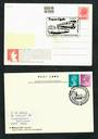 GREAT BRITAIN 1979-1980 Two Postcards with Special Railway postmarks. - 30383 - Postcard
