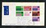 AUSTRALIA 1971 Christmas cover with block of 7. - 30400 - PostalHist