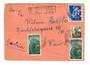 RUMANIA Registered cover  to Austria. - 30404 - PostalHist