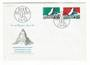 SWITZERLAND 1965 Mobile Post Office. Set of 2 on first day cover. - 30412 - FDC