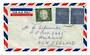WEST GERMANY 1960 Airmail Letter to New Zealand. - 30427 - Postmark