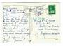FRANCE 1977 Postcard. Cachet in Green