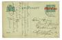 NETHERLANDS 1920 Briefkaart internal with postal rate overprint in red. Nice item. - 30445 - PostalHist