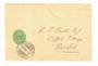 SWITZERLAND 1904 Frontr to Great Britain with fine NEUCHATEL TRANS LETT 14/11/04 cancel. - 30450 - PostalHist