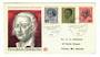 WEST GERMANY 1970 Birth Bicentenaries. Includes Beethoven. Set of 3 on first day cover. - 30459 - FDC