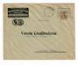 GERMANY 1917 Postal History Commercial cover from Magdeburg postmarked 1/11/17 - 30464 - PostalHist