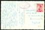 AUSTRIA 1954 Postcard to England. Nice cachet. Interpretation would be appreciated. - 30471 - PostalHist