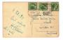 LUXEMBOURG 1929 Postcard to England. - 30477 - PostalHist