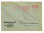 WEST GERMANY 1956 Commercial cover from Rudolph Karstadt with franking machine usage. Very tidy. - 30492 - PostalHist
