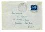 LUXEMBOURG 1954 Cover to New York with National Welfare Fund 4f + 50c Blue. - 30497 - PostalHist