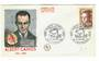 FRANCE 1987 Albert Camus on first day cover. - 30500 - FDC