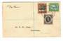 COOK ISLANDS 1938 Definitives. Set of 3 on first day cover. - 30504 - FDC