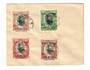 TONGA 1923 2d overprints on unaddressed cover. Tidy but a little toning. - 30507 - PostalHist