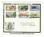 COOK ISLANDS 1966 In Memorium of Sir Winston Churchill. Official Cook Islands Post Office first day cover. - 30509 - FDC
