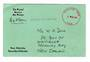 NEW HEBRIDES 2+89 Post Office Official Lettercard to New Zealand. - 30510 - PostalHist