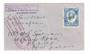 TONGA 1934 Tin Can mail cover. - 30515 - PostalHist
