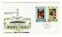 NOUVELLES HEBRIDES 1971 Christmas. Set of 2 on first day cover. - 30518 - FDC