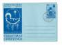 GILBERT & ELLICE ISLANDS 1975 Christmas Aerogramme. - 30527 - PostalHist