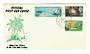 FIJI 1967 150th Anniversary of the Death of Captain Bligh. Set of 3 on first day cover. - 30544 - FDC