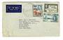 FIJI 1946 Airmail Letter to New Zealand. Postage 10d. A little damage can be repaired. - 30548 - PostalHist